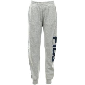 textil Niños Pantalones de chándal Fila Classic Basic Pants Kids Gris