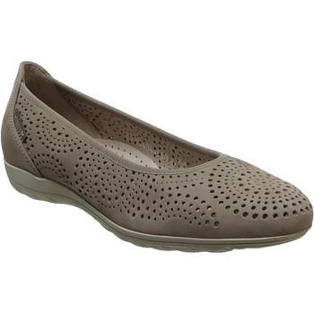 Zapatos Mujer Bailarinas-manoletinas Mephisto Elsie perf Cuero topo