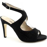Zapatos Mujer Sandalias Melluso MEL-E19-S854-NE Nero