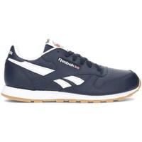 Zapatos Niños Zapatillas bajas Reebok Sport Classic Leather