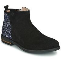 Zapatos Niña Botas de caña baja Acebo's 8035-NEGRO Negro