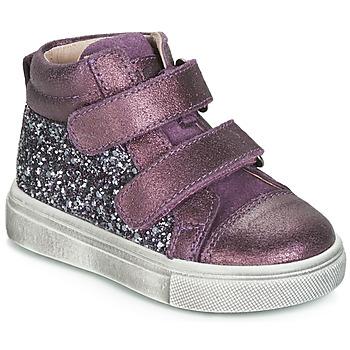 Zapatos Niña Zapatillas altas Acebo's 5299AV-LILA-C Violeta