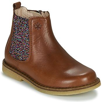 Zapatos Niña Botas de caña baja Acebo's 5274-CUERO-J Cognac