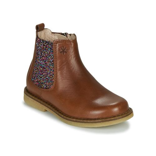 Acebo's 5274-CUERO-J Cognac - Envío gratis   ! - Zapatos Botas de caña baja Nino