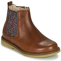 Zapatos Niña Botas de caña baja Acebo's 5274-CUERO Marrón