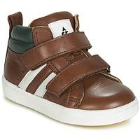 Zapatos Niño Zapatillas altas Acebo's 3040-CUERO-C Marrón