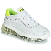 Zapatos Mujer Zapatillas bajas Bronx BUBBLY Blanco / Amarillo