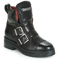 Zapatos Mujer Botas de caña baja Bronx GAMLETT Negro