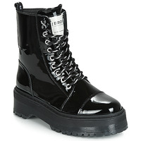 Zapatos Mujer Botas de caña baja Bronx RIFKA SUPER CHUNKY Negro