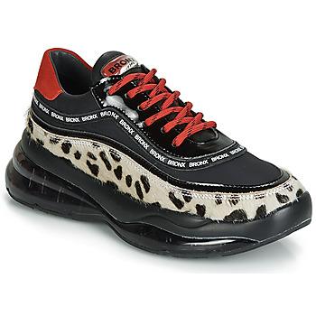 Zapatos Mujer Zapatillas bajas Bronx BUBBLY Negro