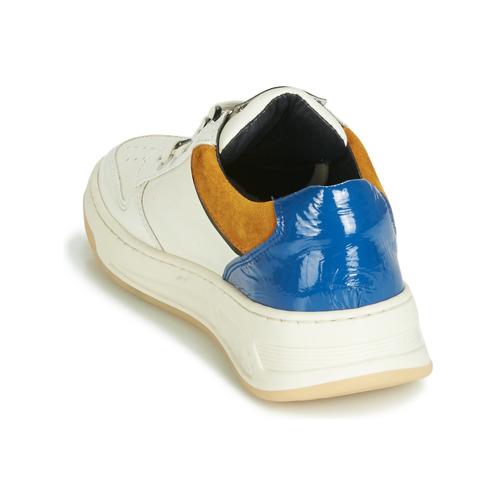 Cosmo Azul Zapatos BlancoOcre Bajas Old Zapatillas Bronx Mujer YHW9D2EI