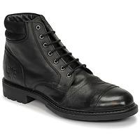 Zapatos Hombre Botas de caña baja Base London REPTON Negro