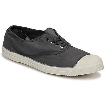 Zapatos Hombre Zapatillas bajas Bensimon TENNIS LACET Gris