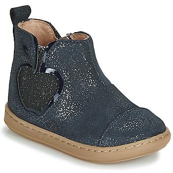 Zapatos Niña Botas de caña baja Shoo Pom BOUBA NEW APPLE Marino
