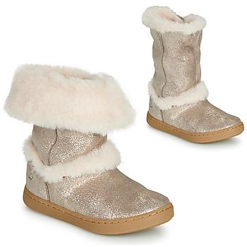 Zapatos Niña Botas de caña baja Shoo Pom PLAY MOOT Plateado