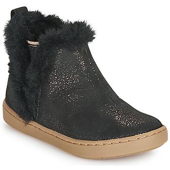 Zapatos Niña Botas de caña baja Shoo Pom PLAY YETI Negro