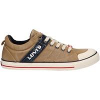 Zapatos Niños Deportivas Moda Levi's VALB0022T ALABAMA Beige