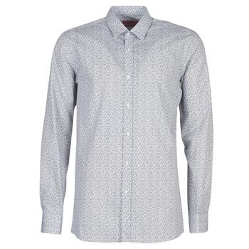textil Hombre Camisas manga larga HUGO ELISHA02 Gris