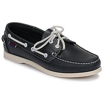 Zapatos Mujer Zapatos náuticos Sebago DOCKSIDES PORTLAND W Azul