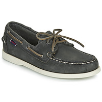 Zapatos Hombre Zapatos náuticos Sebago DOCKSIDES PORTLAND CRAZY H Gris