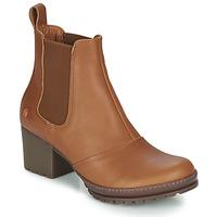 Zapatos Mujer Botines Art CAMDEN Cognac
