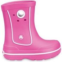 Zapatos Niños Botas de agua Crocs Crocs™ Kids' Crocband™ Jaunt Bright pink