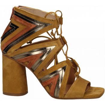 Zapatos Mujer Sandalias Fiori Francesi AMALFI ocra