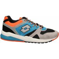 Zapatos Hombre Zapatillas bajas Lotto MARATHON BLOCK 1yd-gray--black-blue