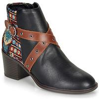 Zapatos Mujer Botines Desigual ALASKA TAPESTRY Negro