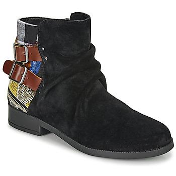 Zapatos Mujer Botas de caña baja Desigual OTTAWA PATCH Negro
