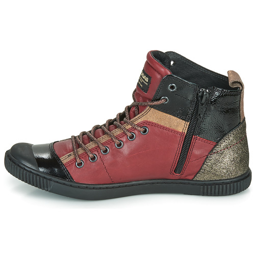 Pataugas Altas Burdeo Zapatos Mujer Zapatillas Banjou LAq354Rjc