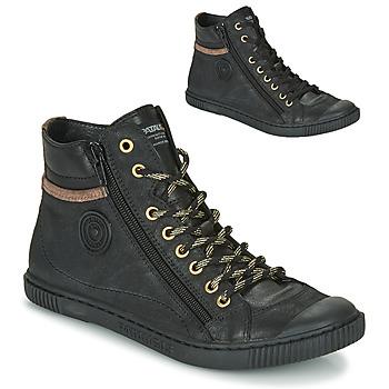 Zapatos Mujer Zapatillas altas Pataugas BONO Negro