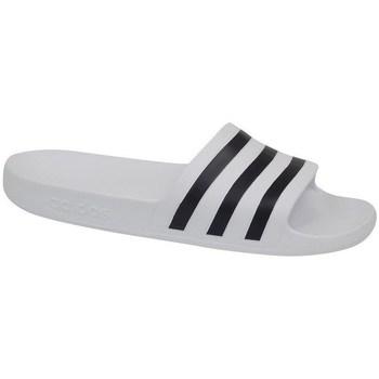 Zapatos Hombre Chanclas adidas Originals Adilette Aqua Blanco