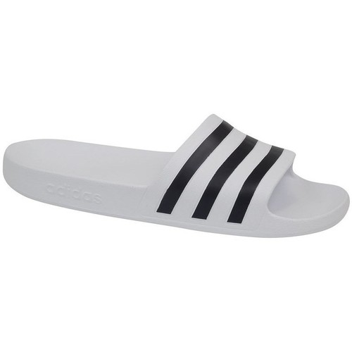 adidas Originals Adilette Aqua Blanco - Zapatos Chanclas Hombre