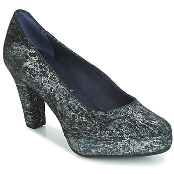Zapatos Mujer Zapatos de tacón Dorking BLSA Negro / Gris