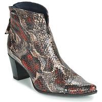 Zapatos Mujer Botines Dorking GRANADA Reptil