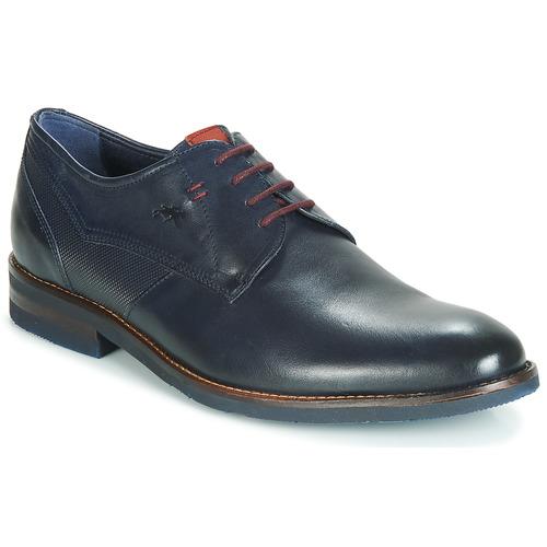Zapatos Hombre Derbie Fluchos OLLYMPO Azul