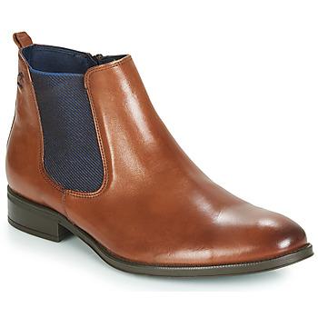 Zapatos Hombre Botas de caña baja Fluchos HERACLES Cognac