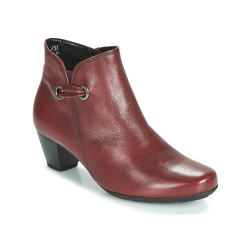 Gabor 3282758 Rojo - Envío gratis   ! - Zapatos Botines Mujer