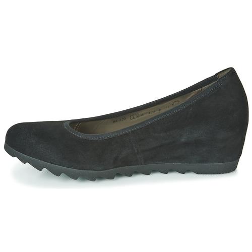 Mujer Zapatos manoletinas Bailarinas 532017 Gabor Negro gYIbf6v7ym