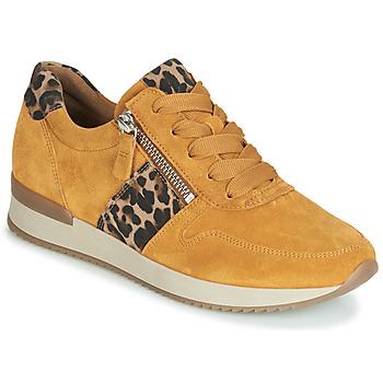 Zapatos Mujer Zapatillas bajas Gabor 3342010 Mostaza