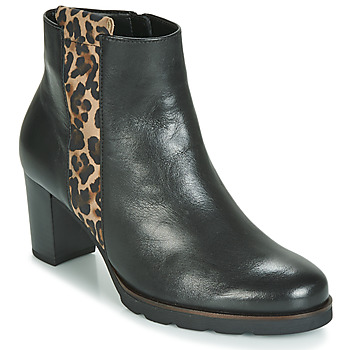 Zapatos Mujer Botines Gabor 3554122 Negro / Leopardo