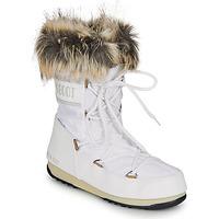 Zapatos Mujer Botas de nieve Moon Boot MOON BOOT MONACO LOW WP 2 Blanco