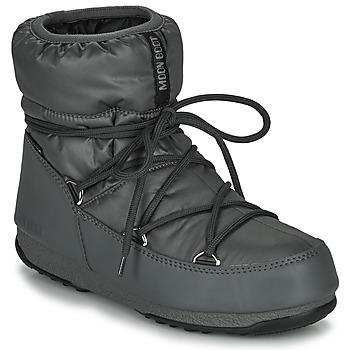 Zapatos Mujer Botas de nieve Moon Boot MOON BOOT LOW NYLON WP 2 Gris