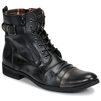 Zapatos Hombre Botas de caña baja Kdopa DUBLIN Negro