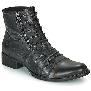 Zapatos Hombre Botas de caña baja Kdopa MANSHESTER Negro