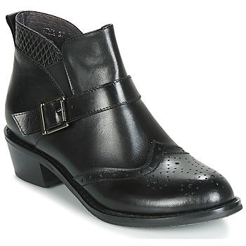 Zapatos Mujer Botas de caña baja Kdopa INNA Negro