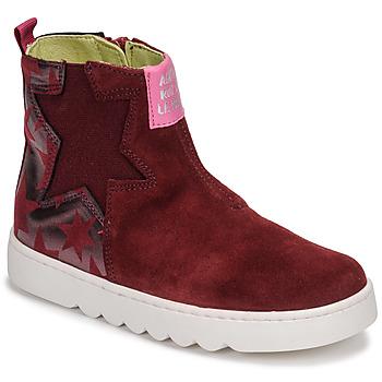 Zapatos Niña Botas de caña baja Agatha Ruiz de la Prada HOUSE Burdeo