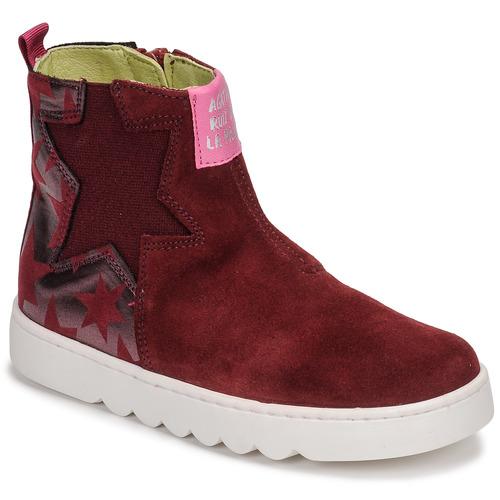 Agatha Ruiz de la Prada HOUSE Burdeo - Envío gratis | ! - Zapatos Botas de caña baja Nino
