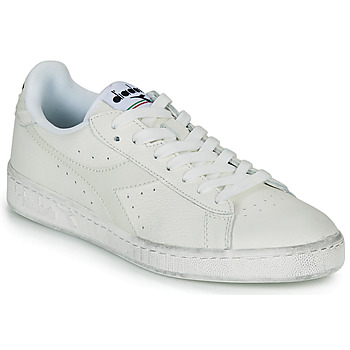 Zapatos Zapatillas bajas Diadora GAME L LOW WAXED Blanco
